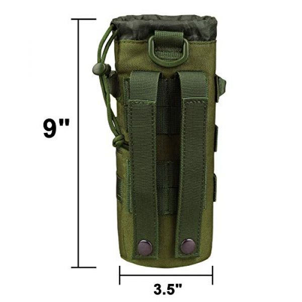 AMYIPO Tactical Pouch 2 AMYIPO Tactical MOLLE Water Bottle Pouch