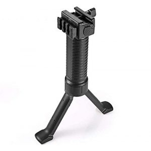 SONOVEL Airsoft Gun Bipod 1 SONOVEL Bipod 6-9 InchesMonopods Bipods for Hunting Foldable Legs Adjustable Monopods