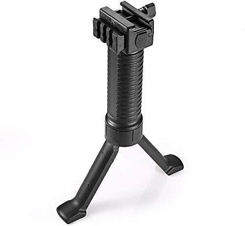 SONOVEL Airsoft Gun Bipod 1 SONOVEL Bipod 6-9 InchesMonopods Bipods for Hunting Foldable Legs Adjustable Monopods