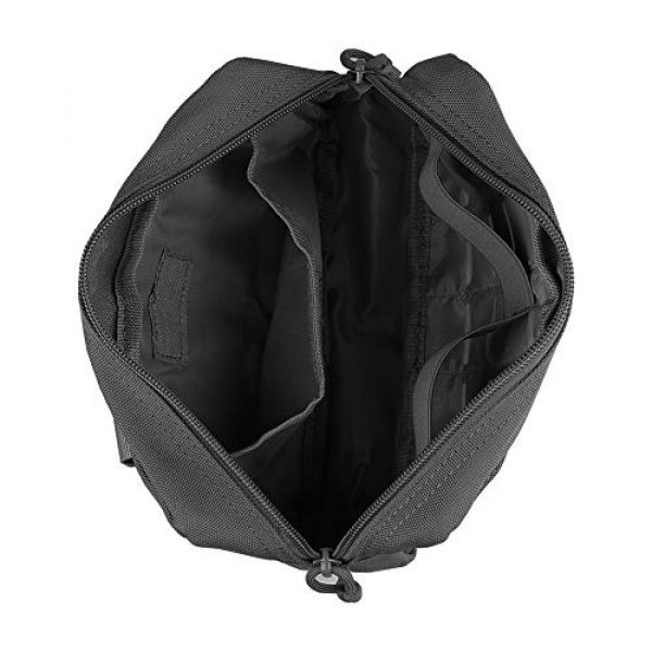 AMYIPO Tactical Pouch 4 AMYIPO Equipment Multi-Purpose Tactical Molle Admin Pouch EDC Utility Tools Bag Utility Pouches Molle Attachment Military Modular Attachment Small Pouch