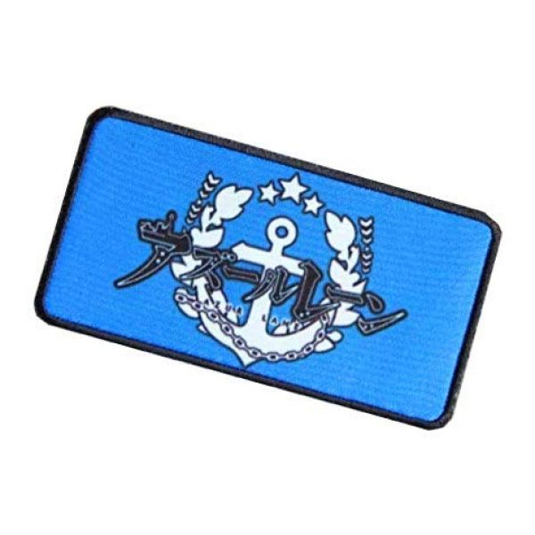 Fine Print Patch Airsoft Morale Patch 3 Azur Lane Patch Military Hook Loop Tactics Morale Printed Patch (color2)