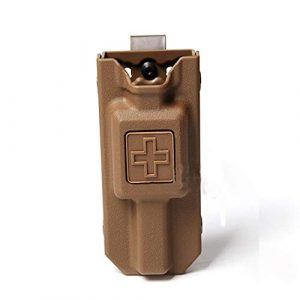WICHEMI Tactical Pouch 1 WICHEMI Tourniquet Case Molle Tourniquet Holder Pouch Storage Bag Box Tourniquet Carrier Case for Outdoor Hunting