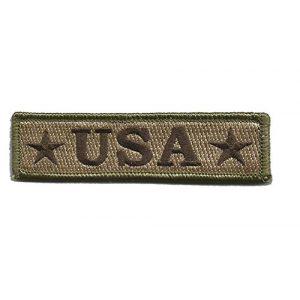 Gadsden and Culpeper Airsoft Morale Patch 1 U.S.A. Tactical Morale Patch - Multitan