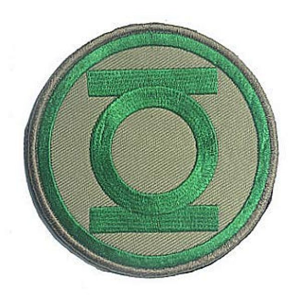 Embroidery Patch Airsoft Morale Patch 1 DC Comics Green Lantern Military Hook Loop Tactics Morale Embroidered Patch