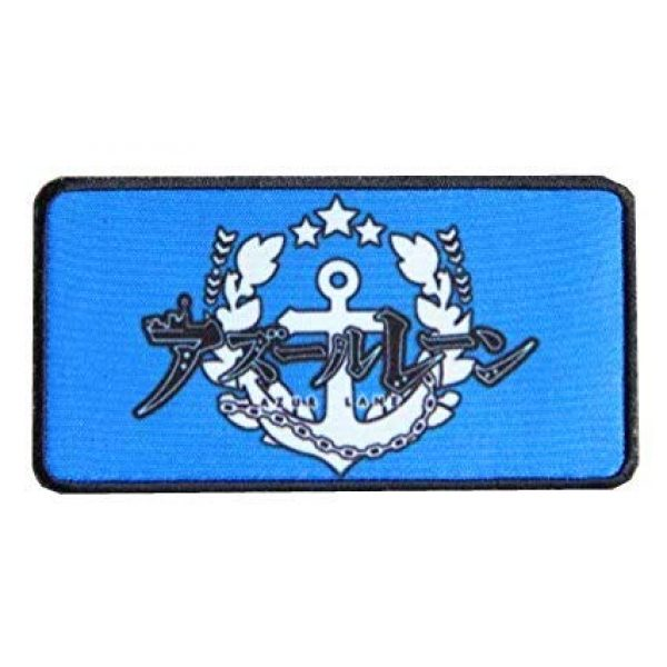Fine Print Patch Airsoft Morale Patch 1 Azur Lane Patch Military Hook Loop Tactics Morale Printed Patch (color2)