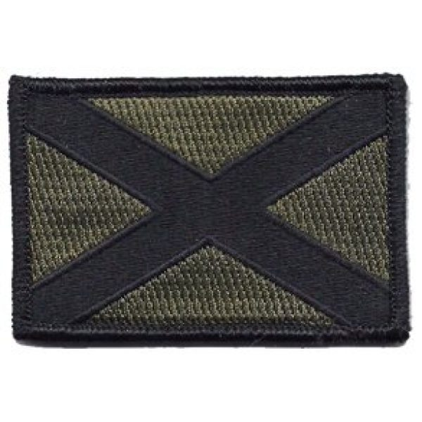 Gadsden and Culpeper Airsoft Morale Patch 1 Alabama Tactical Flag Patch