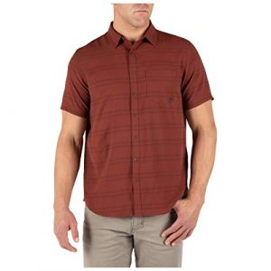 5.11 Tactical Shirt 1 5.11 Tactical Men's So Swift Short Sleeve Shirt, Metal Ring Snaps, Style 71388