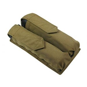 Tactic World Tactical Pouch 1 MOLLE Tactical Pouch for Two Tubes at 140-160 Balls Waterproof