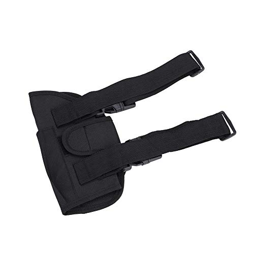 Alomejor Airsoft Holster 2 Leg Bag Kids Tactical Leg Holster Kit with Dart Pouch Toy Holster Holder for Outdoor Hiking Cycling