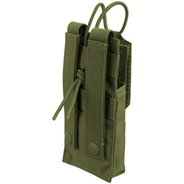 Condor Tactical Pouch 3 CONDOR 191223-001 Molle Tactical Patrol Radio Pouch OD Green