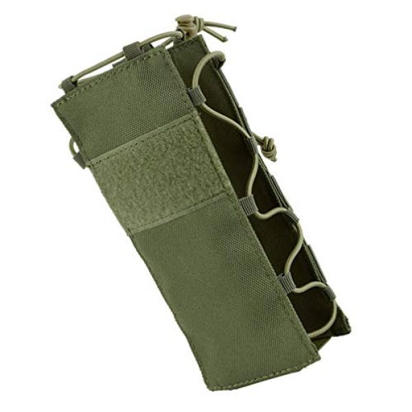 BESPORTBLE Tactical Pouch 3 BESPORTBLE Army Green Portable Outdoor Waist Pouch Sport Travel Elastic Water Bottle Bag Holder Kettle Carrier