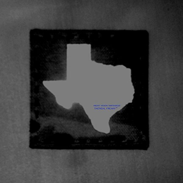 Tactical Freaky Airsoft Morale Patch 2 Texas Multicam Infrared IR 2x2 Tactical Morale Hook&Loop Patch
