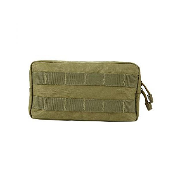 anyilon Tactical Pouch 2 anyilon Multifunction Tactical Molle Pouch Zipper Closure Large Waist Pack Outdoor Backpack Attachment Camping Hiking Pouch