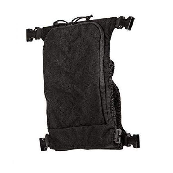 5.11 Tactical Pouch 3 5.11 Tactical Style # 56491 Helmet Pouch & Shove-It Gear Set, Black