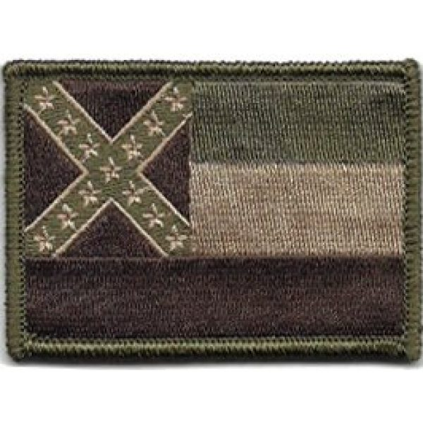 Gadsden and Culpeper Airsoft Morale Patch 1 Mississippi Tactical Flag Patch