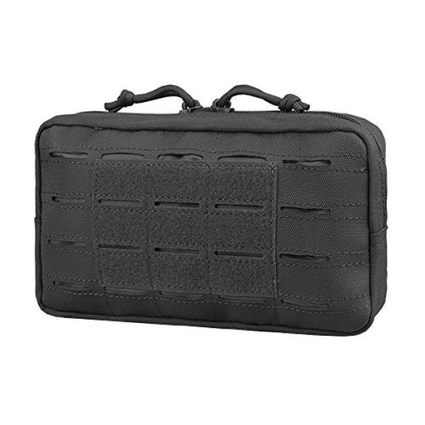 AMYIPO Tactical Pouch 1 AMYIPO Equipment Multi-Purpose Tactical Molle Admin Pouch EDC Utility Tools Bag Utility Pouches Molle Attachment Military Modular Attachment Small Pouch