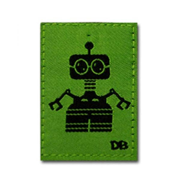 DIME BAGS Airsoft Morale Patch 2 Dime Bags Interchangeable Accessory Patches | Removable Patches for Bag Customization | Add Personality to Your Favorite Dime Bags Product - Bot, Pixel Alients, Space Gun