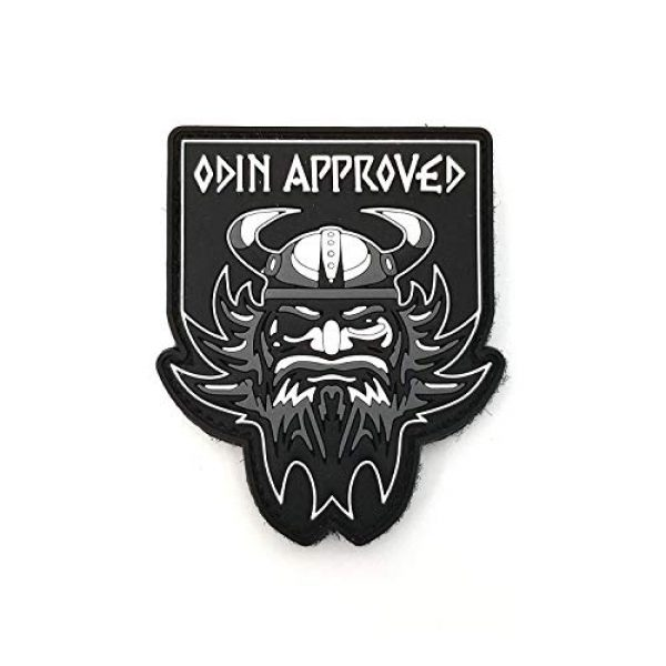 """Tactical Innovations Canada Airsoft Morale Patch 1 PVC Morale Patch - Odin Approved 2""""x2.5"""""""