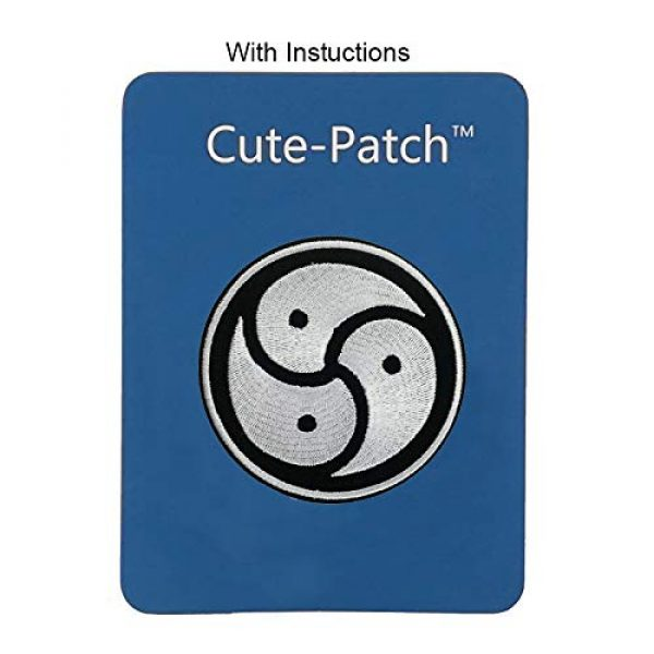 Cute-Patch Airsoft Morale Patch 3 Bondage BDSM Embroidered Iron On Sew On Patch Tattoo Badge Tattoo Emblem