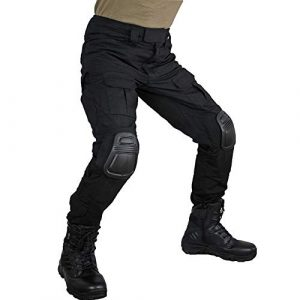 zuoxiangru Tactical Pant 1 zuoxiangru Men's Multicam Tactical Pants Multi-Pockets Military Camo Outdoor Airsoft Combat Hunting Pants with Knee Pads