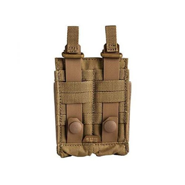 5.11 Tactical Pouch 2 5.11 Tactical Flex Double Pistol Mag Lightweight Pouch, Style # 56425, Kangaroo