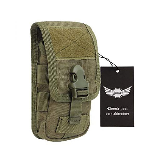 AegisTac Tactical Pouch 1 AegisTac Tactical Molle Phone Pouch EDC Utility Gadget Waist Bag Pack Cell Phone Case Smartphone Holster Bag