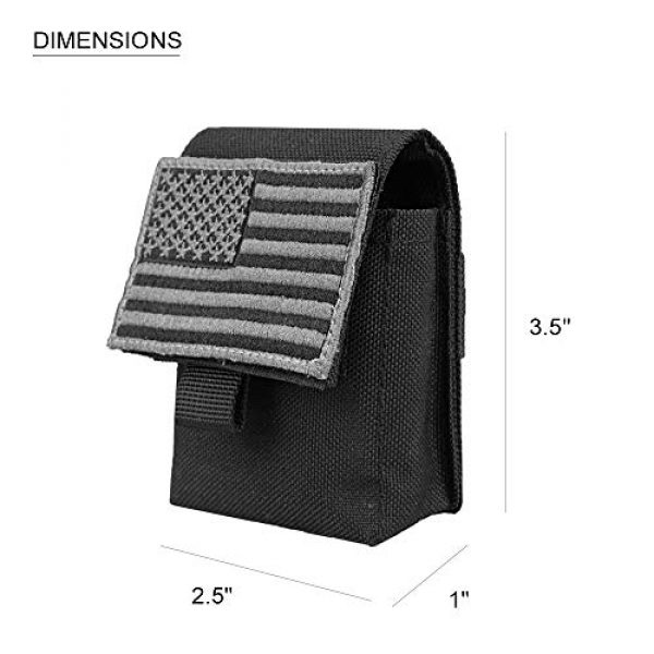 AMYIPO Tactical Pouch 2 AMYIPO Multi-Purpose Compact Waist Bags Small Utility Pouch Military Molle Pouch Tactical Sundries Storage Bag