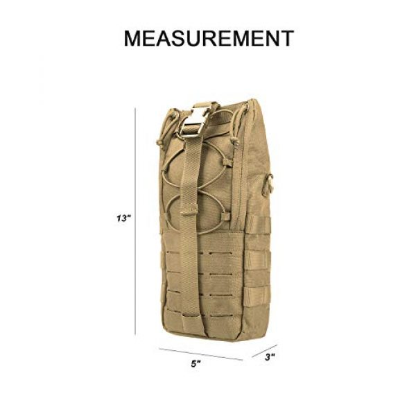 AMYIPO Tactical Pouch 6 AMYIPO Water Bottle Pouch Molle Tactical Holder Storage Bag