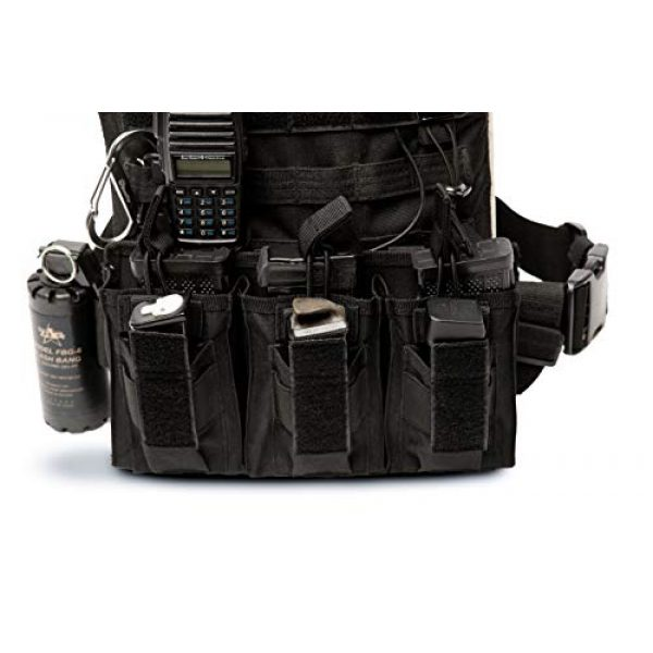 Antila Tactical Pouch 6 Antila Excelling Magazine Pouch for Pistol and Gun - High Speed, Secure and Durable. Bandana and 2 Great Ebooks Included