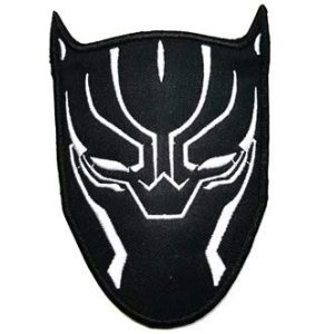 Tactical Embroidery Patch Airsoft Morale Patch 1 Black Panther Marvel Comics Marvel Avengers Superhero Tactical Embroidery Patch Hook & Loop Morale Patch Military Patch for Clothing Accessory Backpack Armband