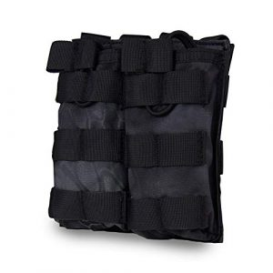 Will Outdoor Tactical Pouch 1 Will Outdoor Tactical Magazine Bag Tactical Vest Accessory Magazine Bag Double Pocket for AR M4 M16 HK416 Magazine