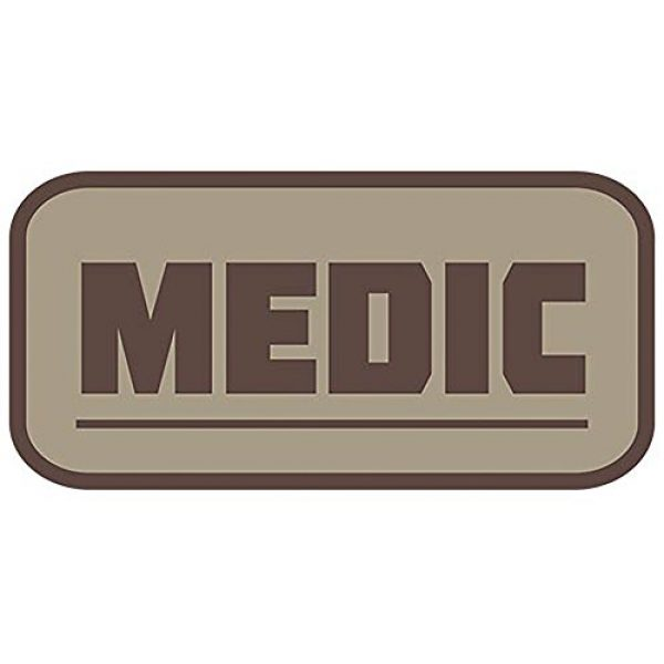 Fox Outdoor Airsoft Morale Patch 1 Fox Outdoor Products 32 Medical & Morale Patches, Khaki