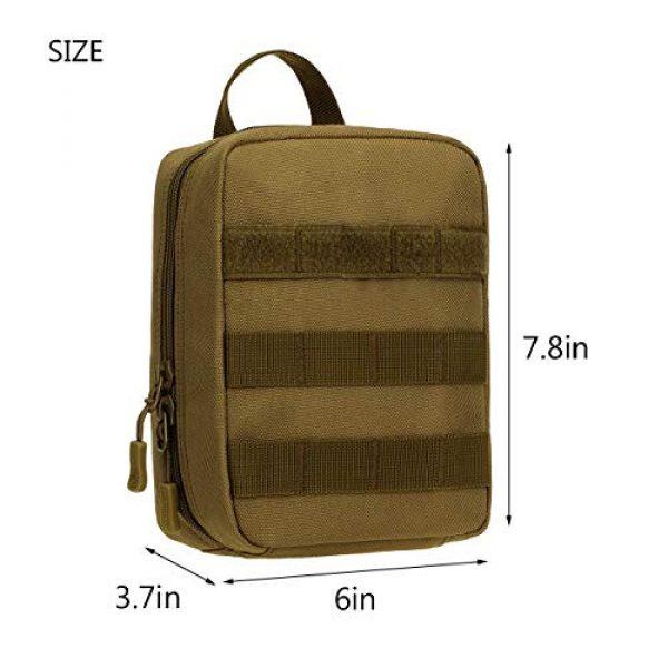 ArcEnCiel Tactical Pouch 5 ArcEnCiel EMT Molle Pouch Tactical Military IFAK Medical First Aid Kit Utility Bag