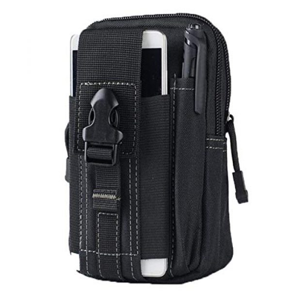 AOCK Tactical Pouch 1 AOCK Multi-Purpose Poly Tool Holder EDC Pouch Camo Bag Military 1000D Nylon Utility Tactical Waist Pack Camping Hiking Pouch