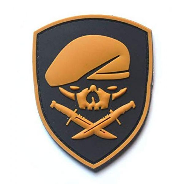 Tactical PVC Patch Airsoft Morale Patch 3 Ranger 75th Regiment AFO Delta Force Seals Medal of Honor MOH PVC Military Tactical Morale Patch Badges Emblem Applique Hook Patches for Clothes Backpack Accessories