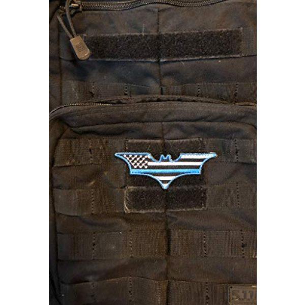 PakedDeals Airsoft Morale Patch 6 PakedDeals Thin Blue Line Morale Patch Hero Bundle Superman Batman Spider Man Tactical Accessories