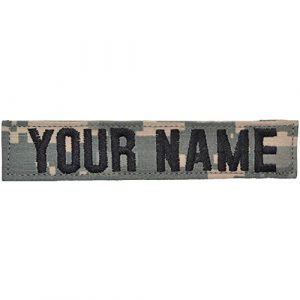 Tactical Gear Junkie Airsoft Morale Patch 1 Custom ACU/UCP Name Tape with Hook Fastener