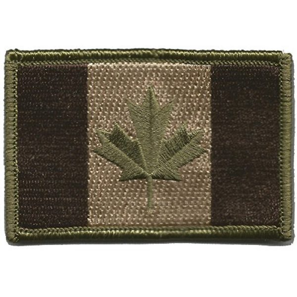Gadsden and Culpeper Airsoft Morale Patch 1 Canada Flag Tactical Patch