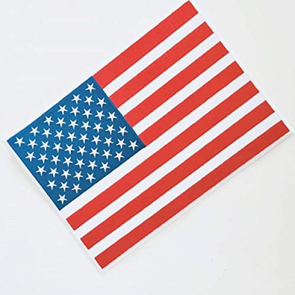 """Heavens Tvcz Airsoft Morale Patch 5 Heavens Tvcz Large XXL National Flag Embroidered Motorcycle for Men Women Teens Patches Thin Red White Line Morale Stars On Blue Background Tactical US Flag Worn Black United Jeans Women Patch 11"""" x 7"""