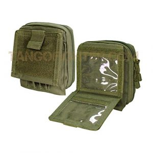 Condor Tactical Pouch 1 Condor Map Pouch MOLLE Olive Drab