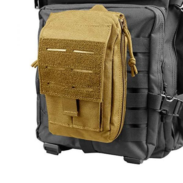 AMYIPO Tactical Pouch 7 AMYIPO Molle EMT Pouch First Aid Kit Pouch Rip-Away Emergency Survival Kit Tactical MOLLE Medical Utility Quick Release Design Bag