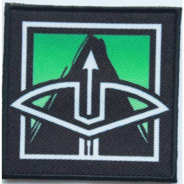 Tactical Embroidery Patch Airsoft Morale Patch 1 Rainbow Six Operator Capitao Embroidery Patch Military Tactical Morale Patch Badges Emblem Applique Hook Patches for Clothes Backpack Accessories