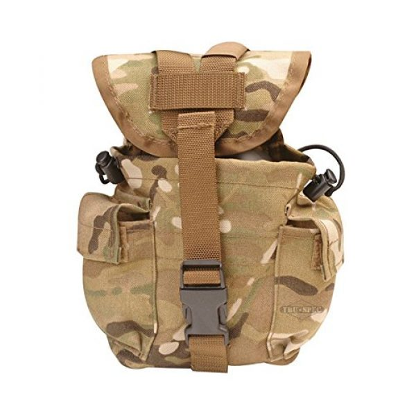 5ive Star Gear Tactical Pouch 1 5ive Star Gear Molle Compatible 1 Quart Canteen/Utility Pouch, One Size, Multicam