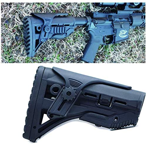 SONOVEL Airsoft Gun Stock 2 SONOVEL Soft Spring Toy Nylon Tail HolderFAB Rear Holder Nerf Tactical Modification Accessories Suitable for Water Bomb and NERF
