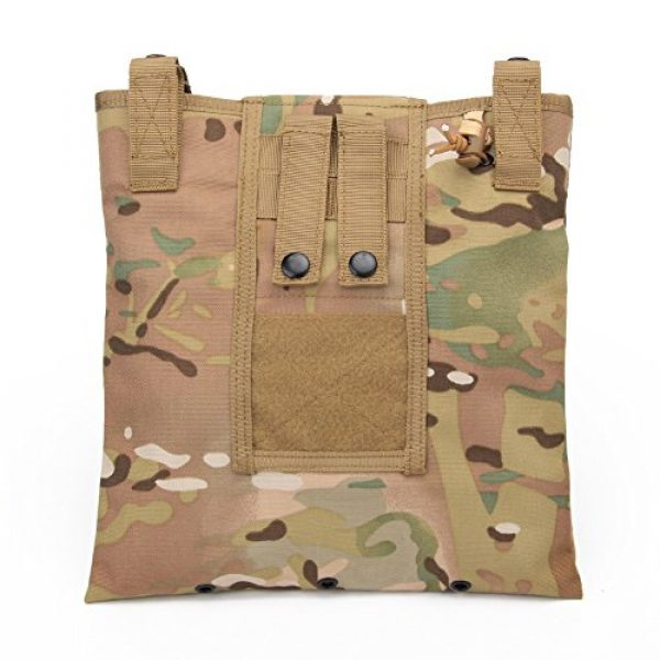 ATAIRSOFT Tactical Pouch 1 ATAIRSOFT Molle System Tactical Foldable Dump Magazine Pouch Hunting Recovery Bag Drop Pouches