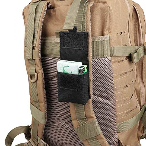 AMYIPO Tactical Pouch 7 AMYIPO Multi-Purpose Compact Waist Bags Small Utility Pouch Military Molle Pouch Tactical Sundries Storage Bag