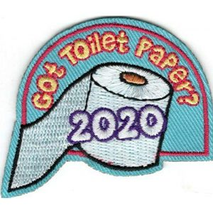 Generic Airsoft Morale Patch 1 GOT TOILET PAPER 2020 Iron On Patch Health