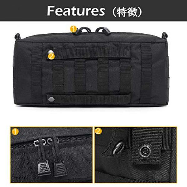 TRIWONDER Tactical Pouch 4 TRIWONDER Tactical Sling Bag Pack Molle Military Shoulder Bag Backpack Messenger Bag Utility Shoulder Satchel