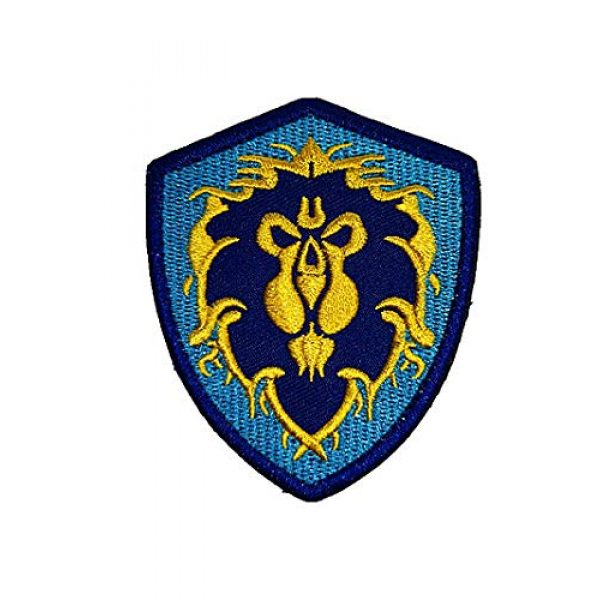 Embroidery Patch Airsoft Morale Patch 1 World of Warcraft Tribe Terran Military Hook Loop Tactics Morale Embroidered Patch