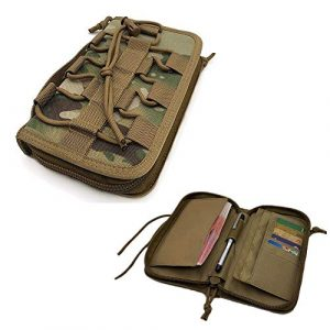 FIRECLUB Tactical Pouch 1 FIRECLUB Portable Tactical Wallet Handbag for Men Camping Hiking Bag Camouflage Bag Waist Bag Pack Polyester Card Purse